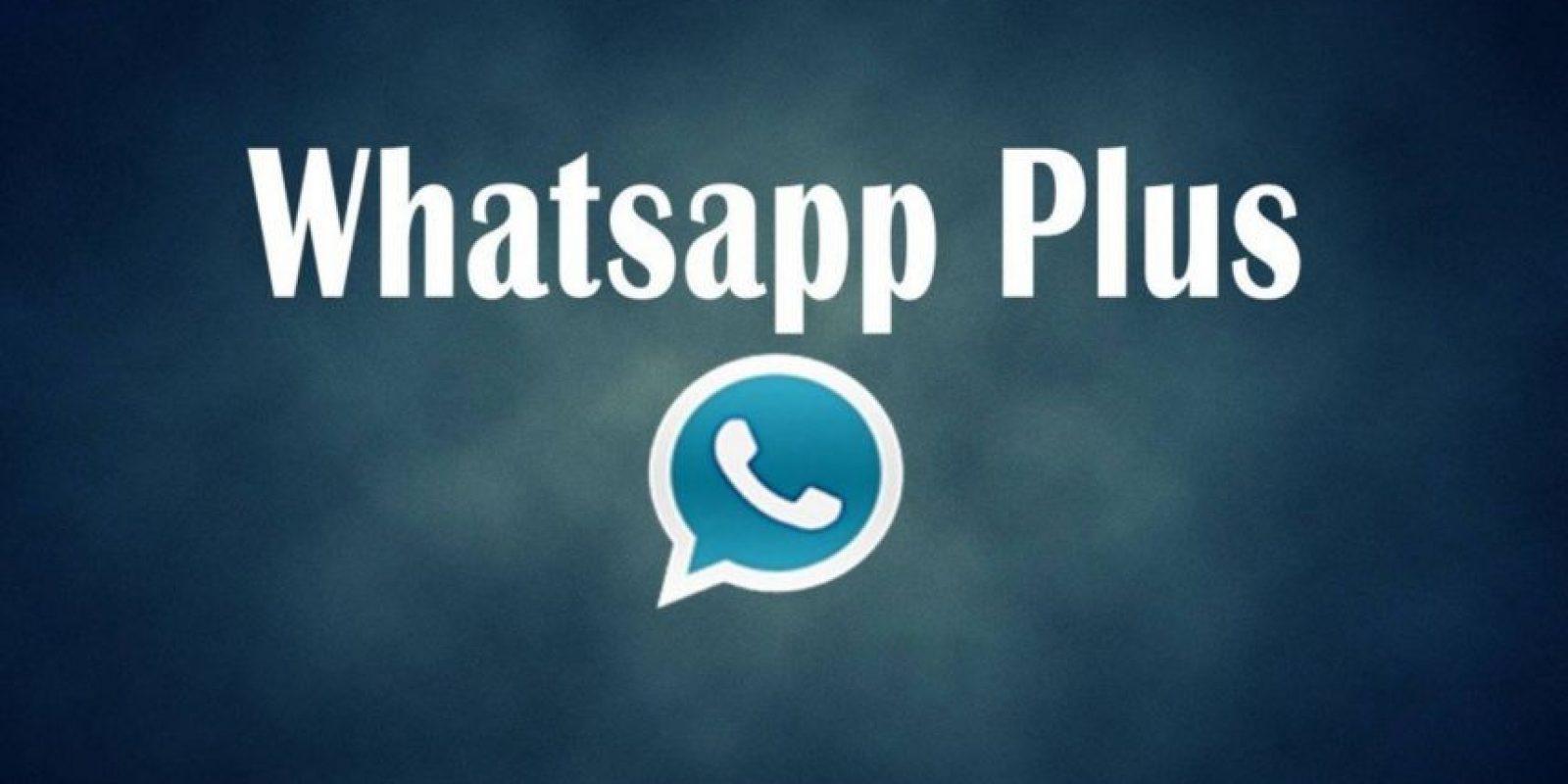 Es la más reciente versión de WhatsApp Plus. Foto:Vía Twitter.com. Imagen Por: