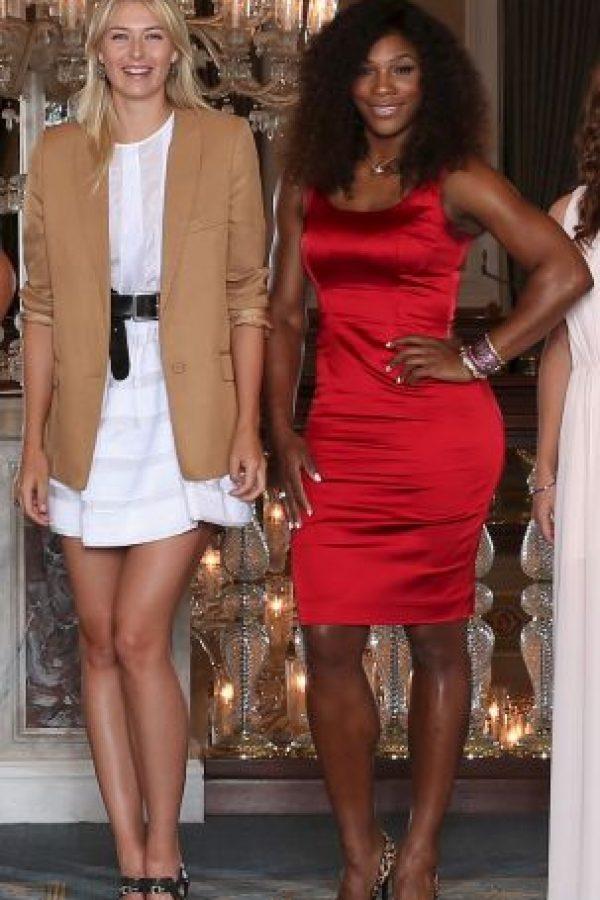 Serena Williams y Maria Sharapova protagonizan la rivalidad más famosa del tenis femenil en los últimos años. Foto:Getty Images. Imagen Por: