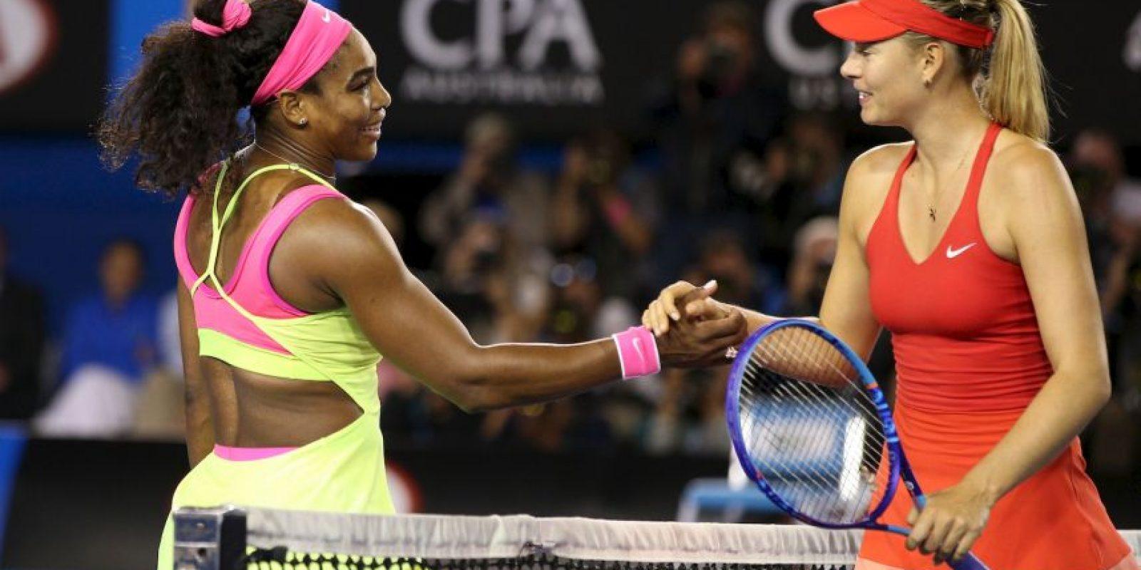"""Además, Serena lleva 18 victorias consecutivas sobre """"Masha"""". Foto:Getty Images. Imagen Por:"""