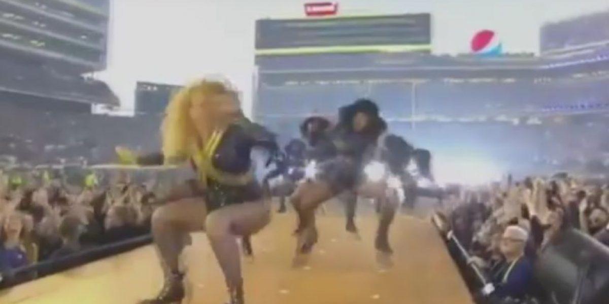 Beyoncé sufre traspié en el Super Bowl