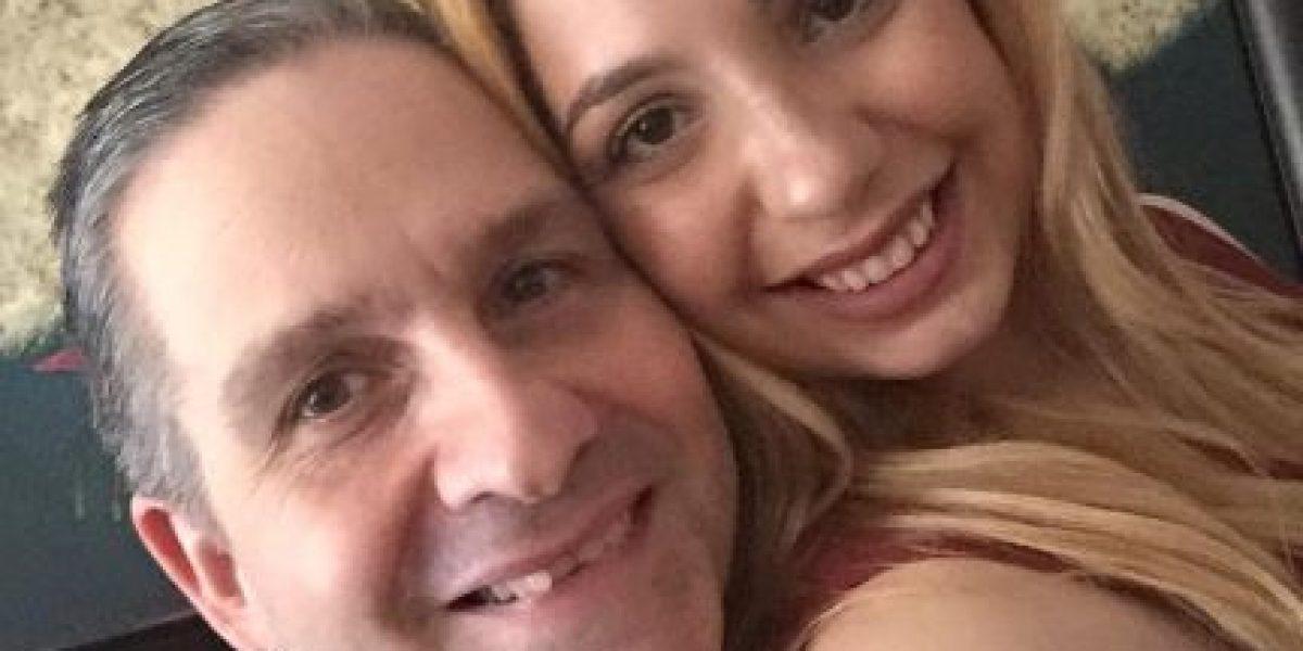 Andrea de Castro publica selfie con su padre