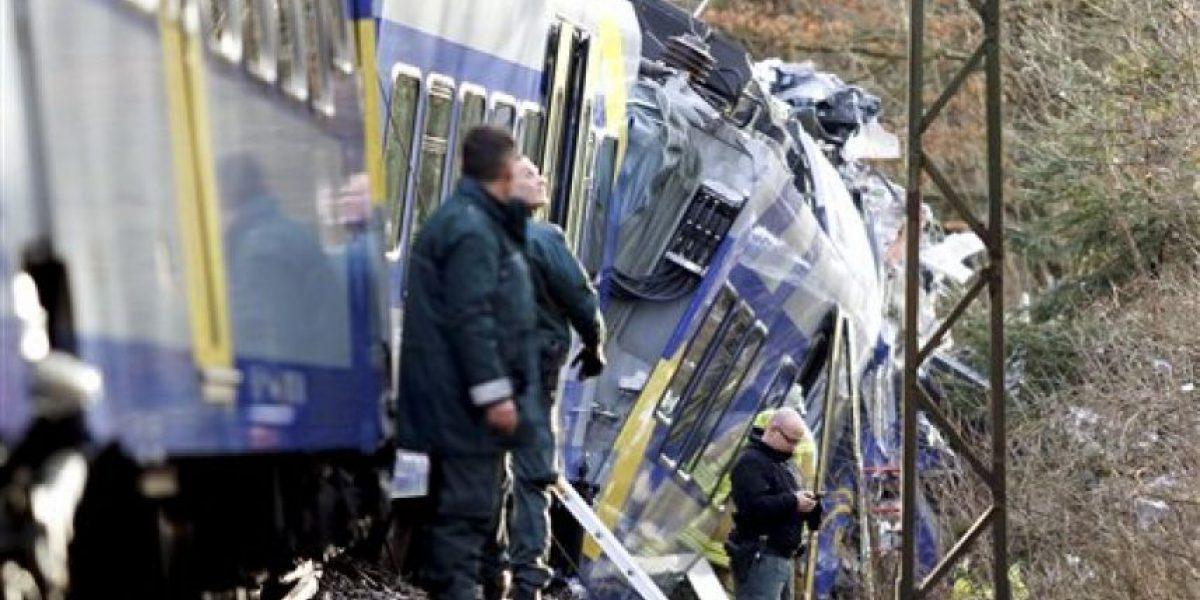 Choque de trenes en Alemania deja varios muertos