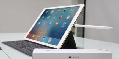 iPad Pro es la tableta más grande jamás creada por Apple. Foto:Nicolás Corte