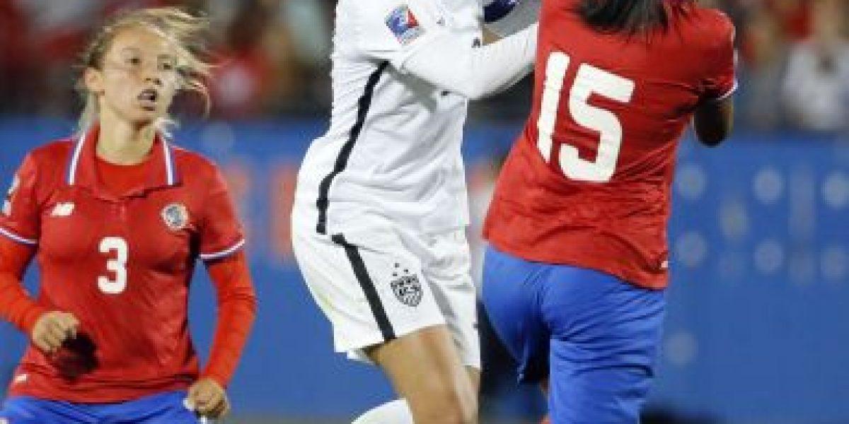 Costa Rica arrolla a Puerto Rico en preolímpico de fútbol