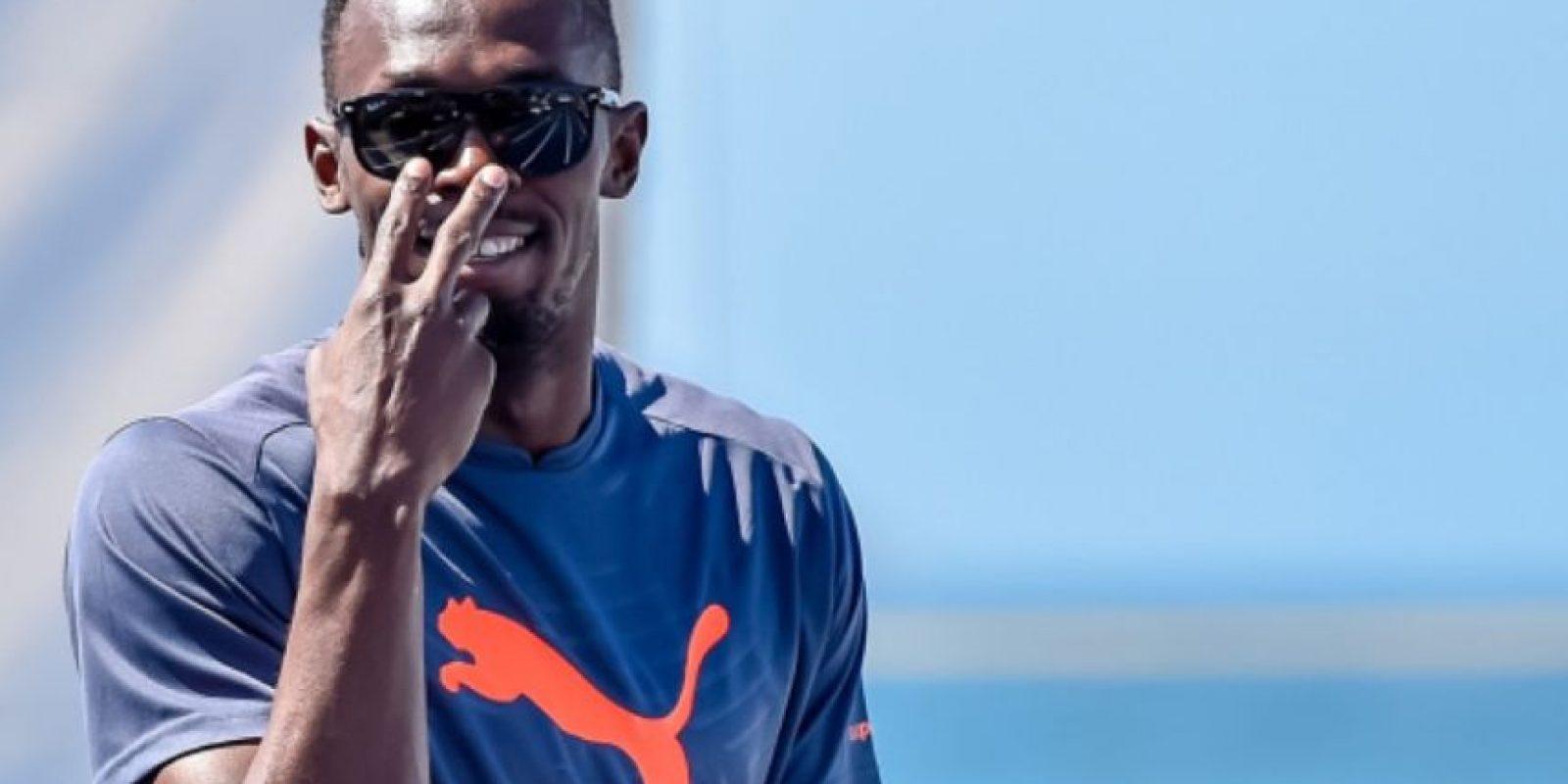 4- Usain Bolt. Foto:Getty Images. Imagen Por: