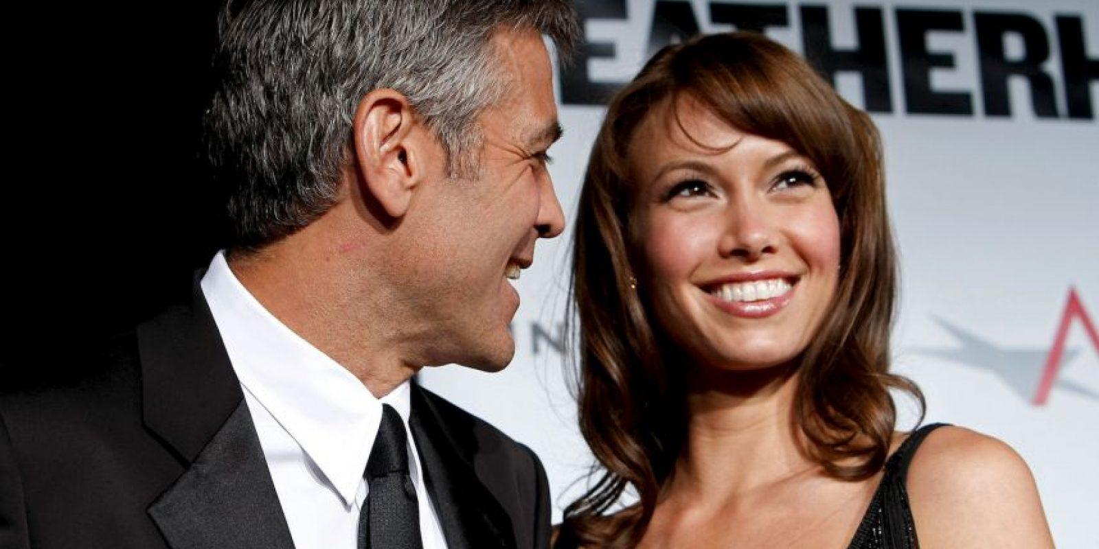 Sarah Larson y George Clooney Foto:Getty Images. Imagen Por:
