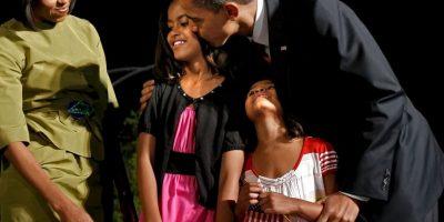 En 1998 nació su primera hija, Malia Ann Foto:Getty Images. Imagen Por: