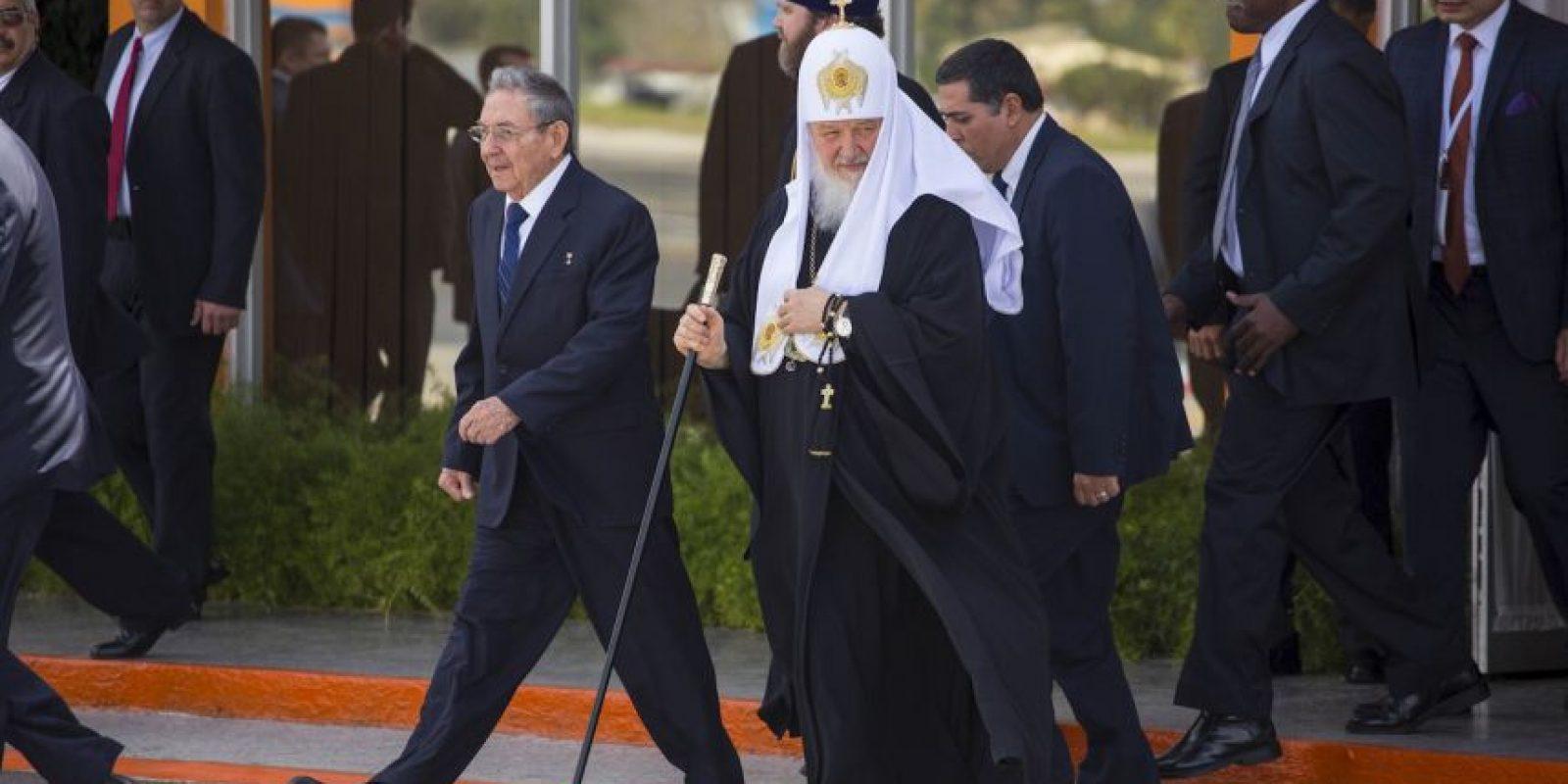 Su partida fue un el 14 de febrero luego que se encontrara con Fidel Castro Foto:AP. Imagen Por: