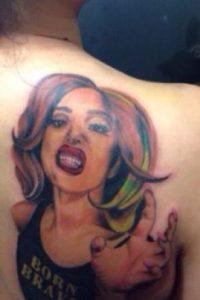 Lady Gaga Foto:vía twitter.com/BadKidYukiMinaj. Imagen Por: