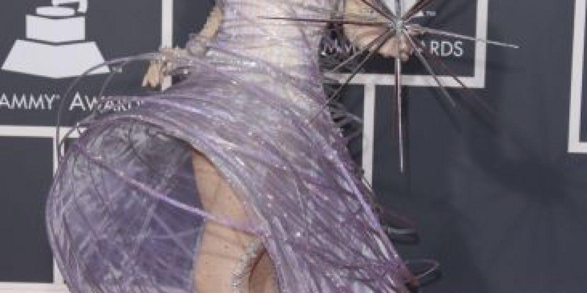 Evolución de la moda de Lady Gaga en los Grammy