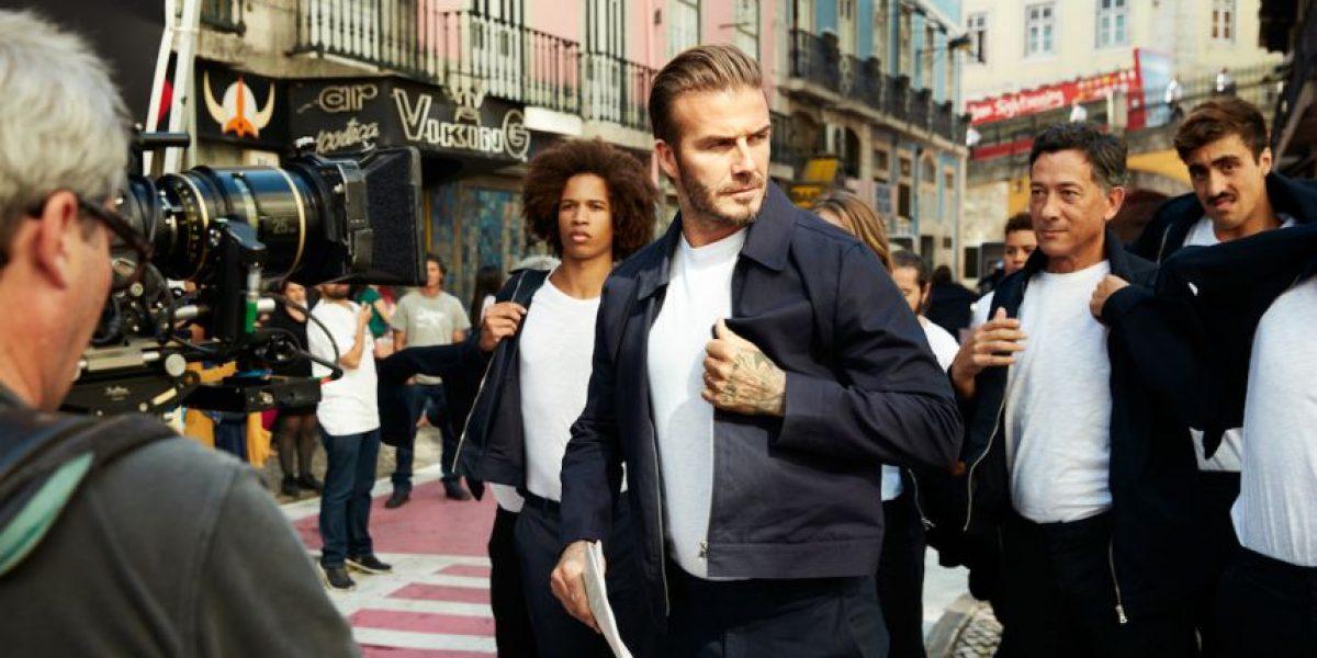 David Beckham inspira nueva colección de H&M