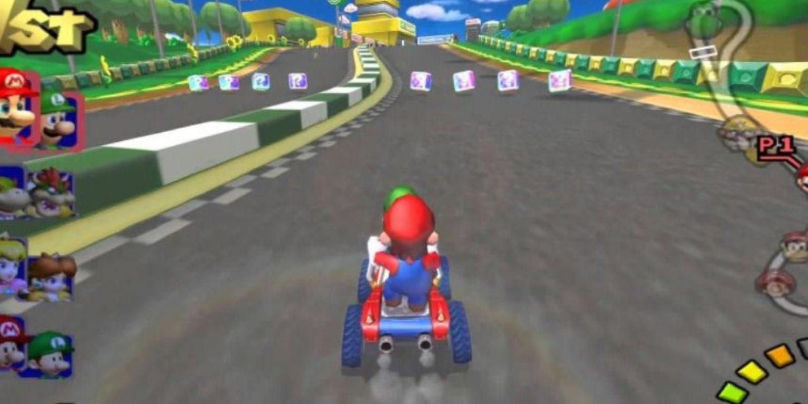 """""""Mario Kart: Double Dash!!"""" para Game Cube (2003). Foto:Nintendo. Imagen Por:"""
