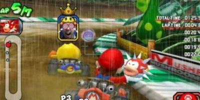 """""""Mario Kart Arcade GP"""" para Arcade (2005). Foto:Nintendo. Imagen Por:"""