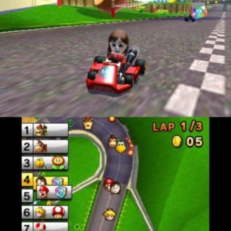 """Mario Kart 7"" para Nintendo 3DS (2011). Foto:Nintendo. Imagen Por:"