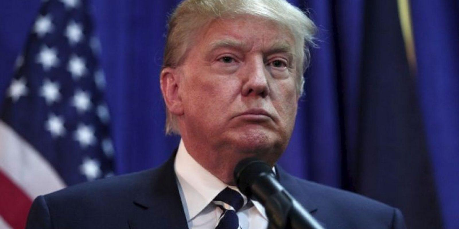"""Trump quiere construir un muro entre México y Estados Unidos y expulsar a los inmigrantes ilegales: """"Los buenos regresarán… legalmente"""". Foto:Getty Images. Imagen Por:"""