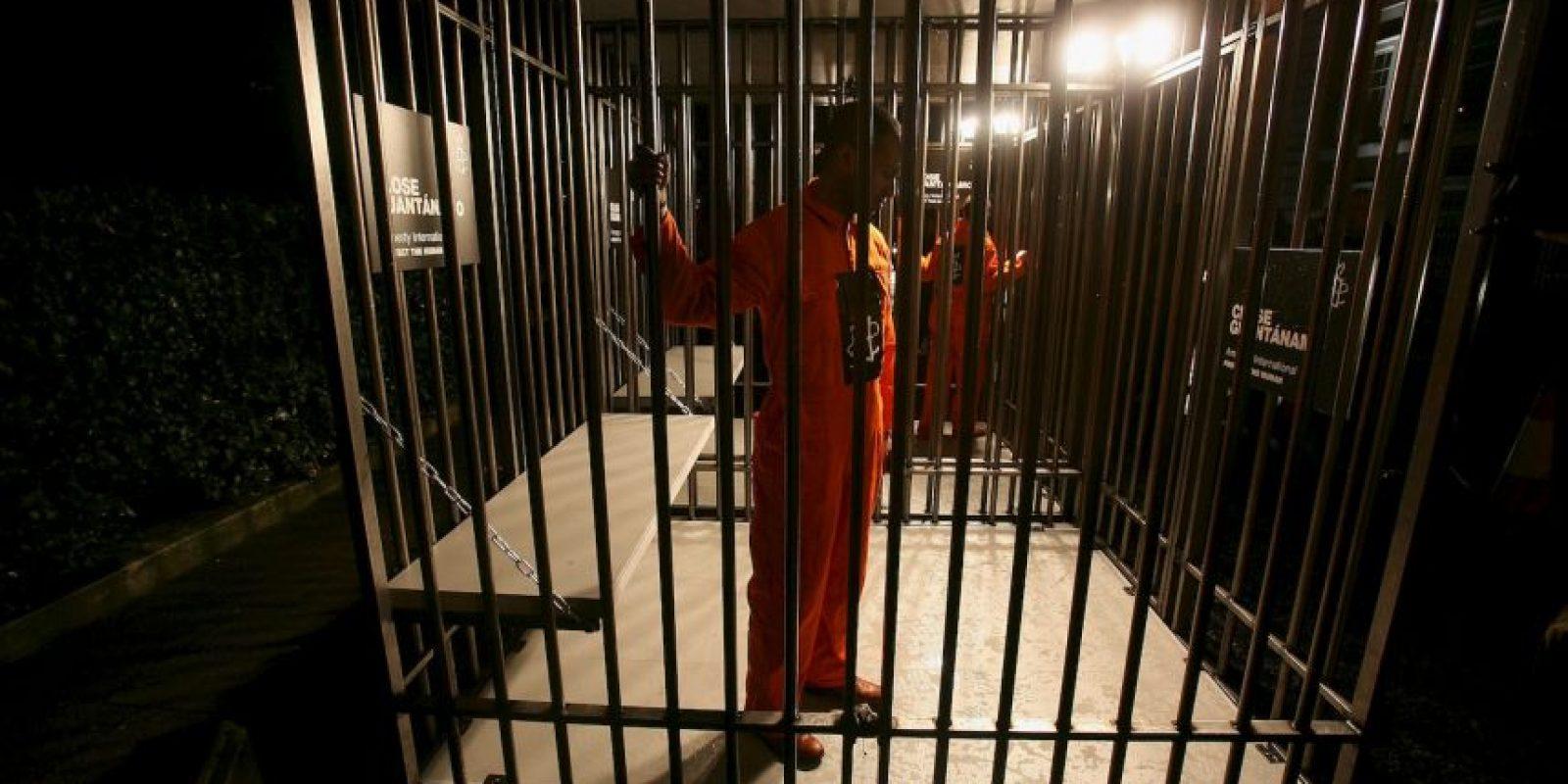 La prisión de alta seguridad está situada en la Base Naval de la Bahía de Guantánamo, localizada en Cuba. Foto:Getty Images. Imagen Por: