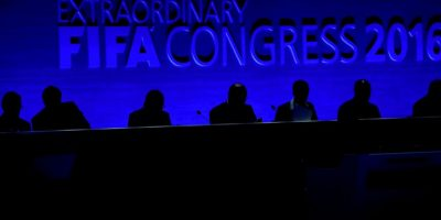 Infantino ganó en la segunda vuelta de las elecciones presidenciales de la FIFA Foto:Getty Images. Imagen Por: