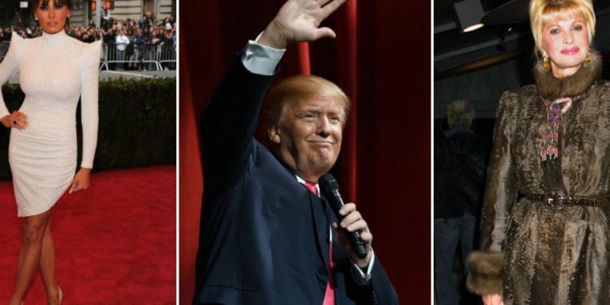 Las esposas inmigrantes de Donald Trump