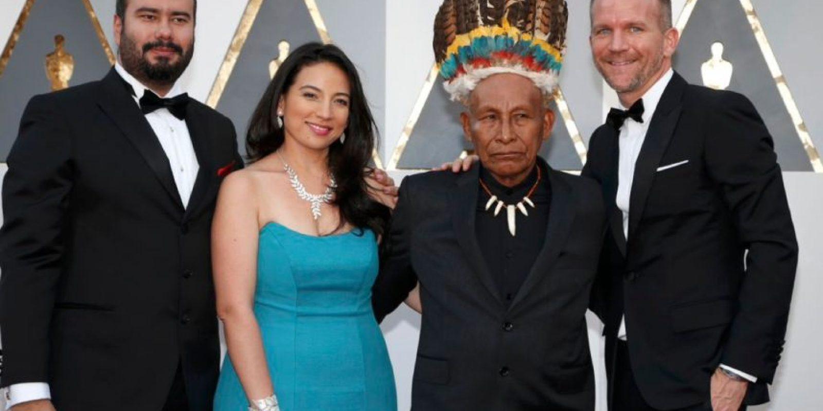 """""""El abrazo de la serpiende"""", de Colombia, fue nominada en """"Mejor película extranjera"""". Foto:Getty Images. Imagen Por:"""