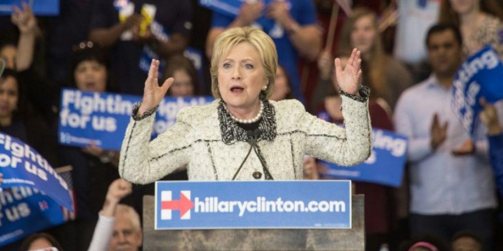 Hillary Clinton es la única mujer del Partido Demócrata interesada en la presidencia de Estados Unidos. Foto:AFP. Imagen Por: