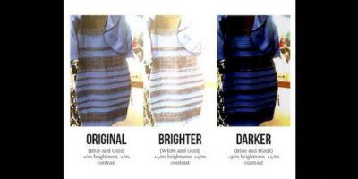 """La pregunta que todos se hacían era """"¿de qué color ves este vestido?"""". Foto:Twitter. Imagen Por:"""