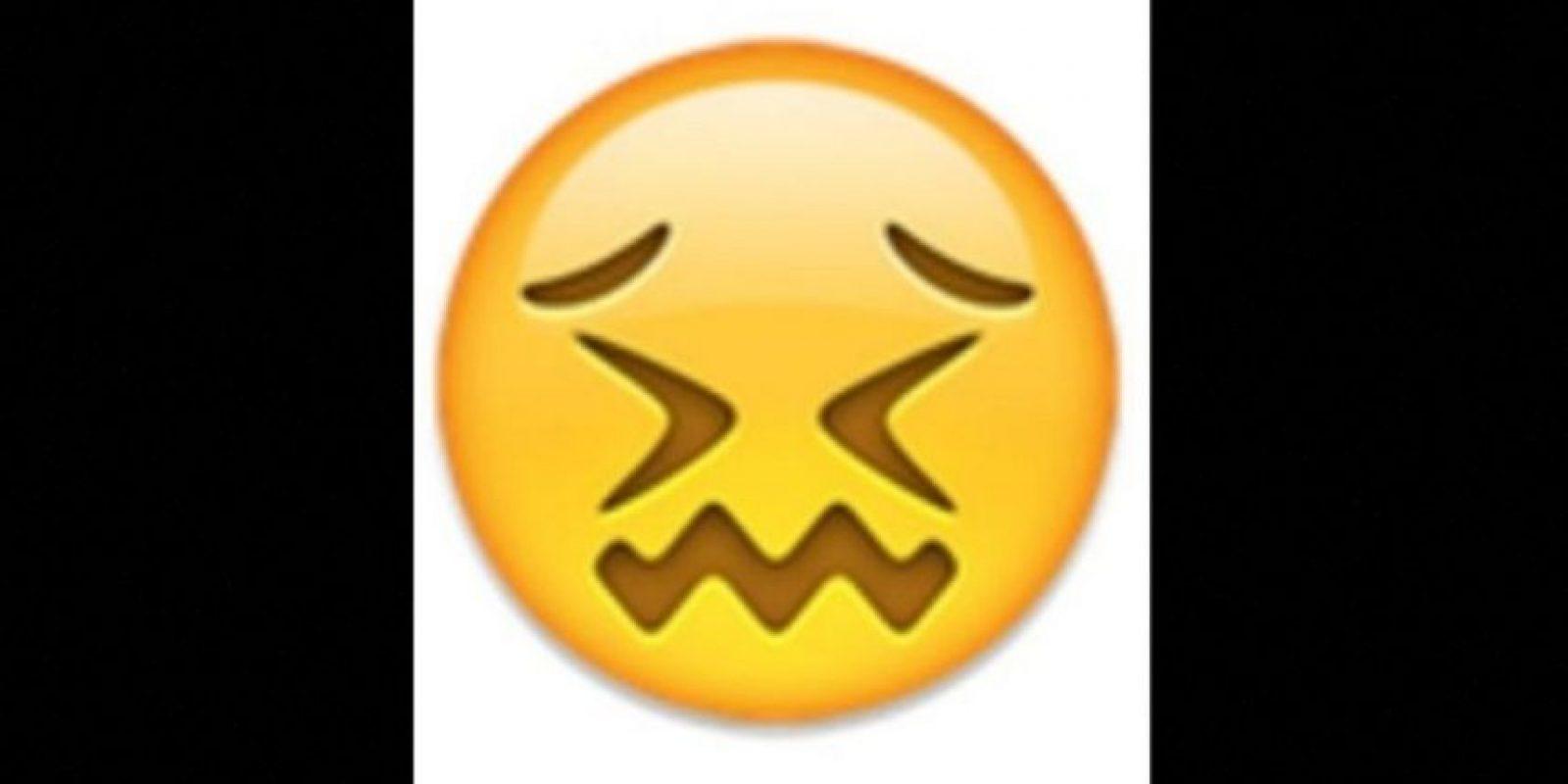 7. Parece que está a punto de llorar, pero solamente está aturdido. Foto:vía emojipedia.org. Imagen Por: