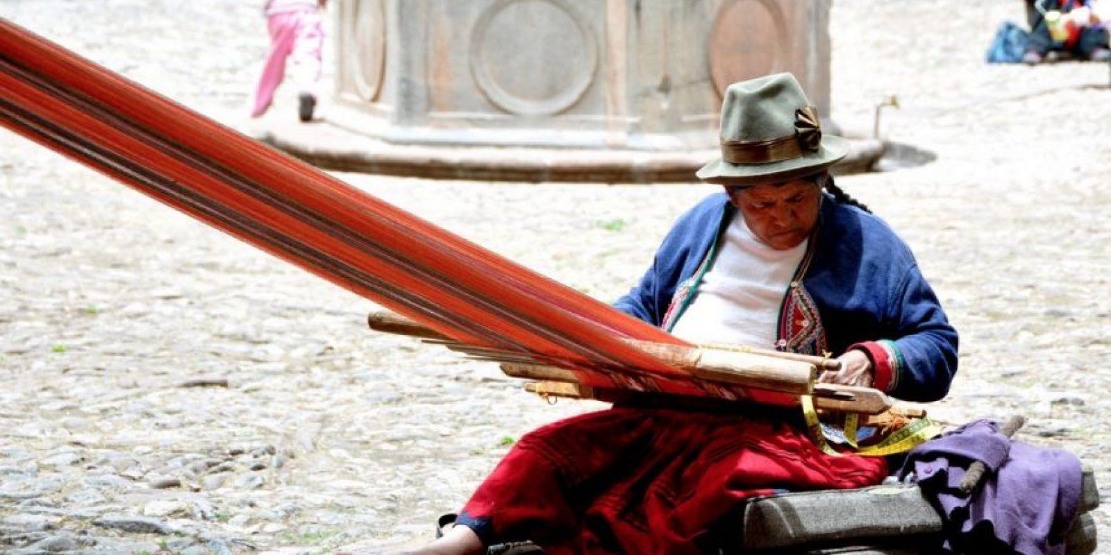 Así laboran las mujeres Quechuas en Perú. Foto:Flickr.com. Imagen Por: