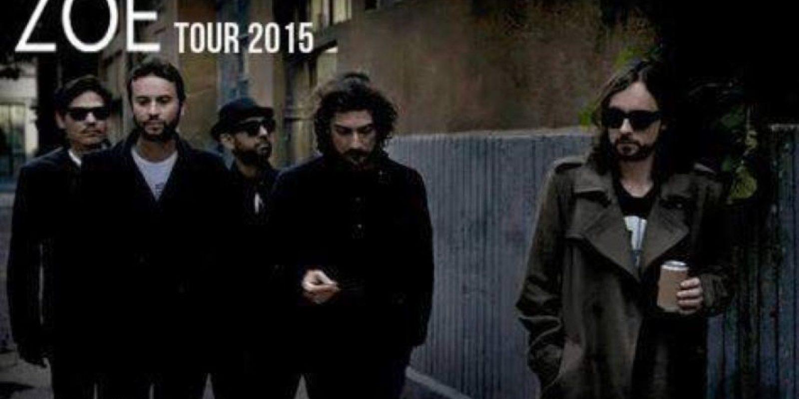 Siguió trabajando con su banda, como siempre. Foto:vía Facebook/Leon Larregui. Imagen Por: