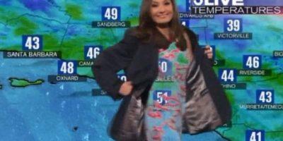 Esta chica del clima Foto: Vía KTL 5. Imagen Por: