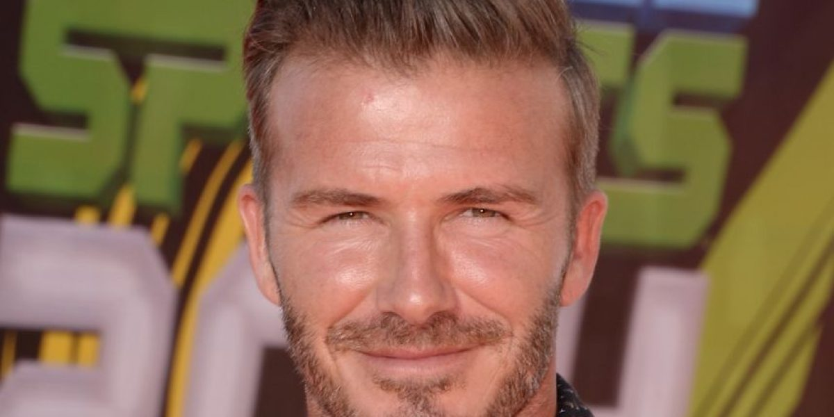 David Beckham sorprende con su look menos glamuroso