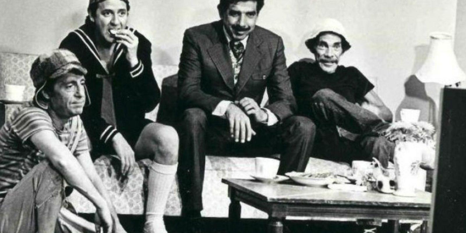 """Así se veía """"Don Ramón"""" en fotos que los fans poco conocen Foto:Vía ElChavodelOcho.com. Imagen Por:"""