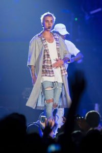 "Justin Bieber en su ""Purpose World Tour"" Foto: Gatty Images. Imagen Por:"