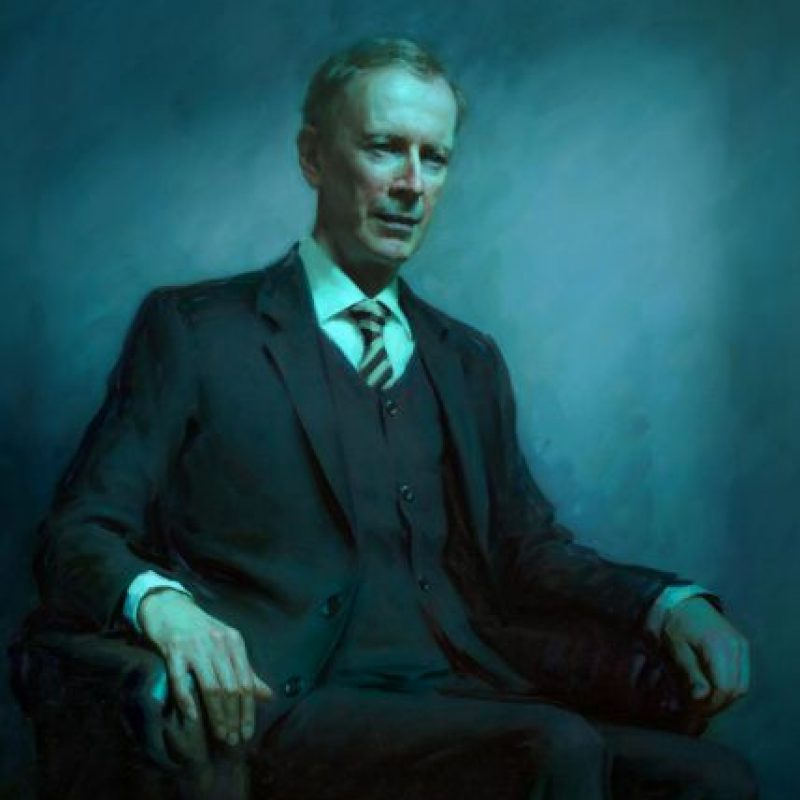 Sir Andrew Wiles es matemático de Oxford. Foto: National Portrait Gallery. Imagen Por: