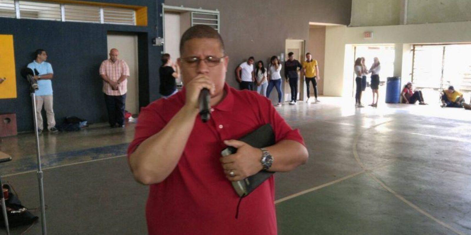 Héctor Delgado, antes conocido como El Father, ahora es predicador. Foto:Suministrada. Imagen Por: