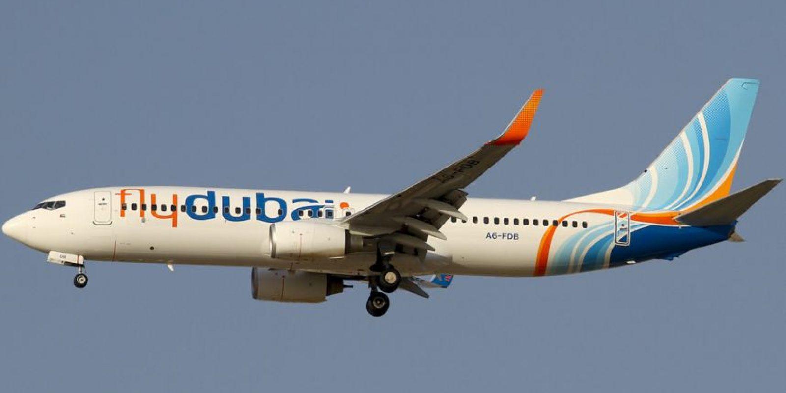 Era el vuelo 981 de FlyDubai Foto:vía Wikipedia. Imagen Por: