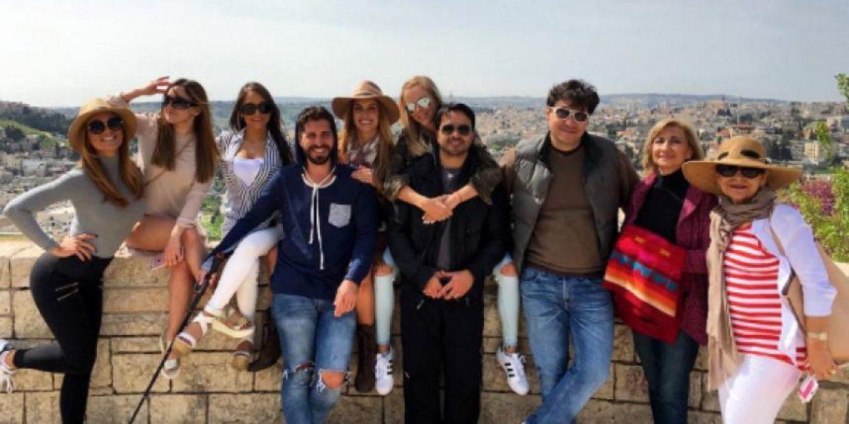 Zuleyka y Fonsi visitaron sagrados lugares