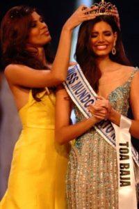 Stefani Del Valle Díaz fue coronada por Keysi Marie Vargas. Foto:Facebook Stephanie Del Valle Diaz – Miss Mundo Toa Baja. Imagen Por:
