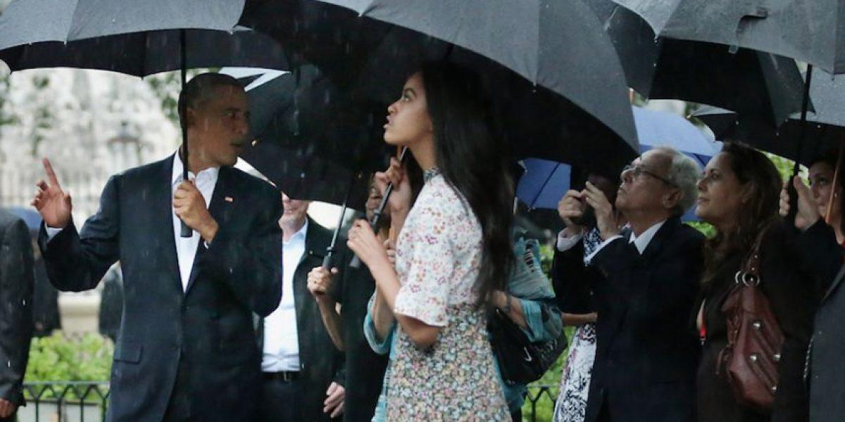 Calles de La Habana reciben a Barack Obama