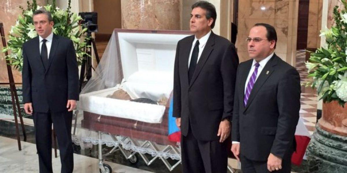 Tributo en el Senado a Hernández Agosto