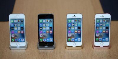 Imágenes de la presentación del iPhone SE Foto:Getty Images. Imagen Por: