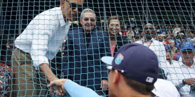 Ambos dedicaron tiempo para saludar a los jugadores. Foto:Getty Images. Imagen Por: