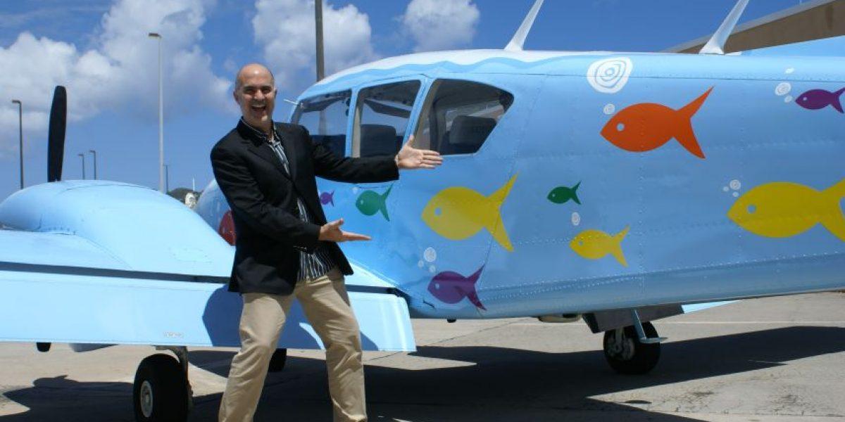 Divertidos taxis aéreos boricuas llegan a St. Thomas