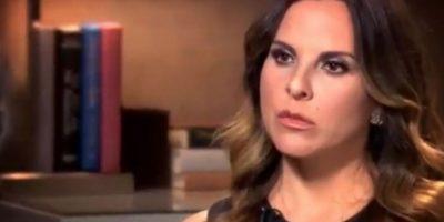 """""""No soy la única que se textea con él [Chapo]. ¿Por qué no sacan los textos de otras personas? ¿Por qué nomás me persiguen a mí y no a Sean Penn y a los otros productores?"""" Foto:vía CNN. Imagen Por:"""