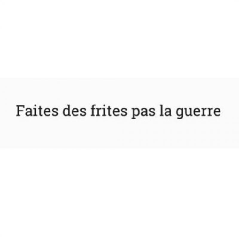 """""""avoir la patate"""" y Foto:Vía Instagram/@dorinda_richard. Imagen Por:"""