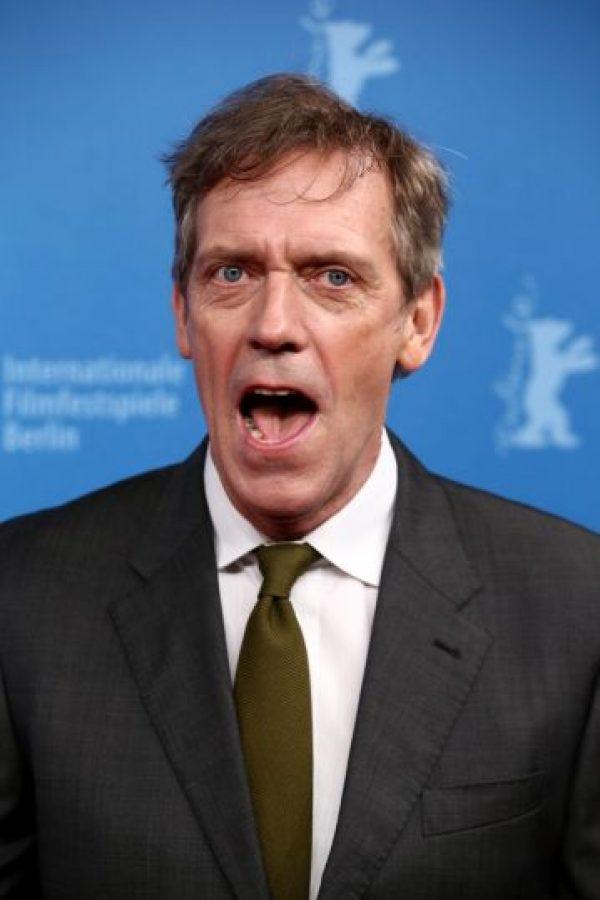 Hugh Laurie, reconocido por el personaje doctor House Foto:Getty Images. Imagen Por: