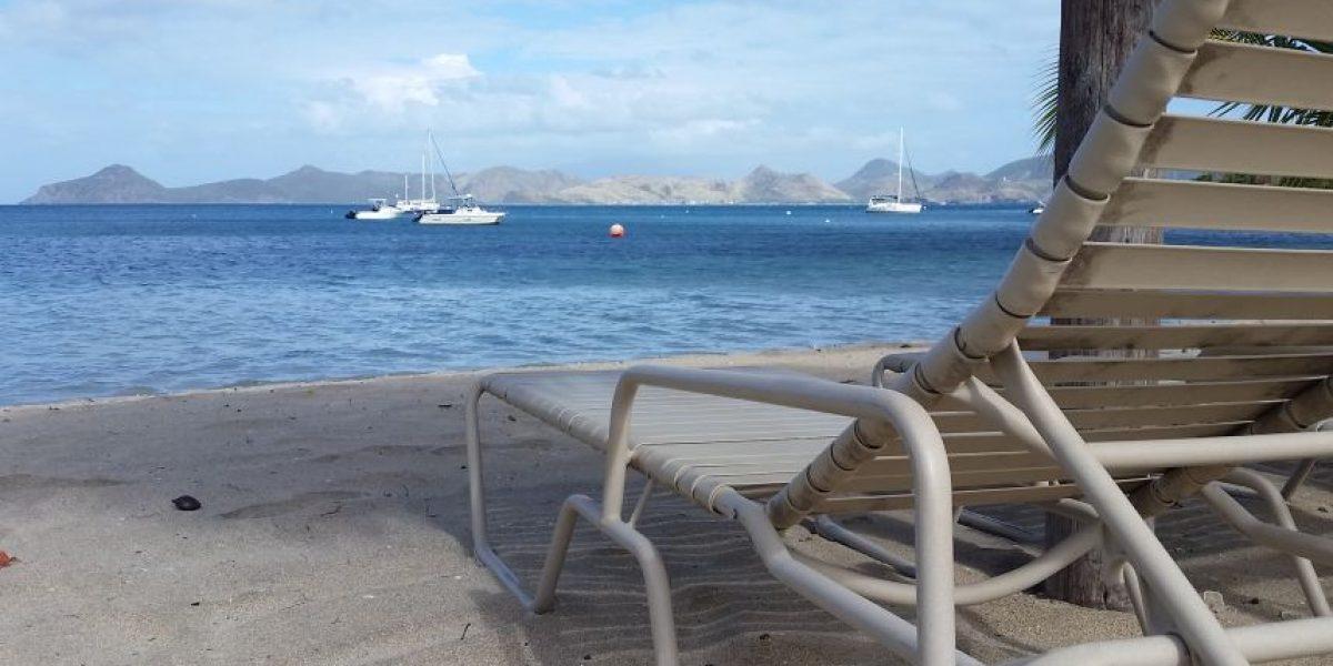 Todo listo para competencia de natación en canal de St. Kitts y Nevis