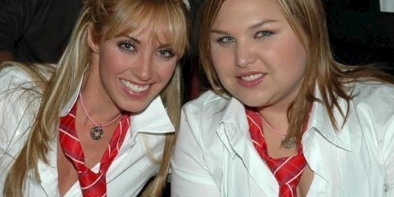 """La mejor amiga de """"Mia Colucci"""", papel que quedó a cargo de la cantante Anahí. Foto: vía instagram.com/estefavillarreal_of. Imagen Por:"""