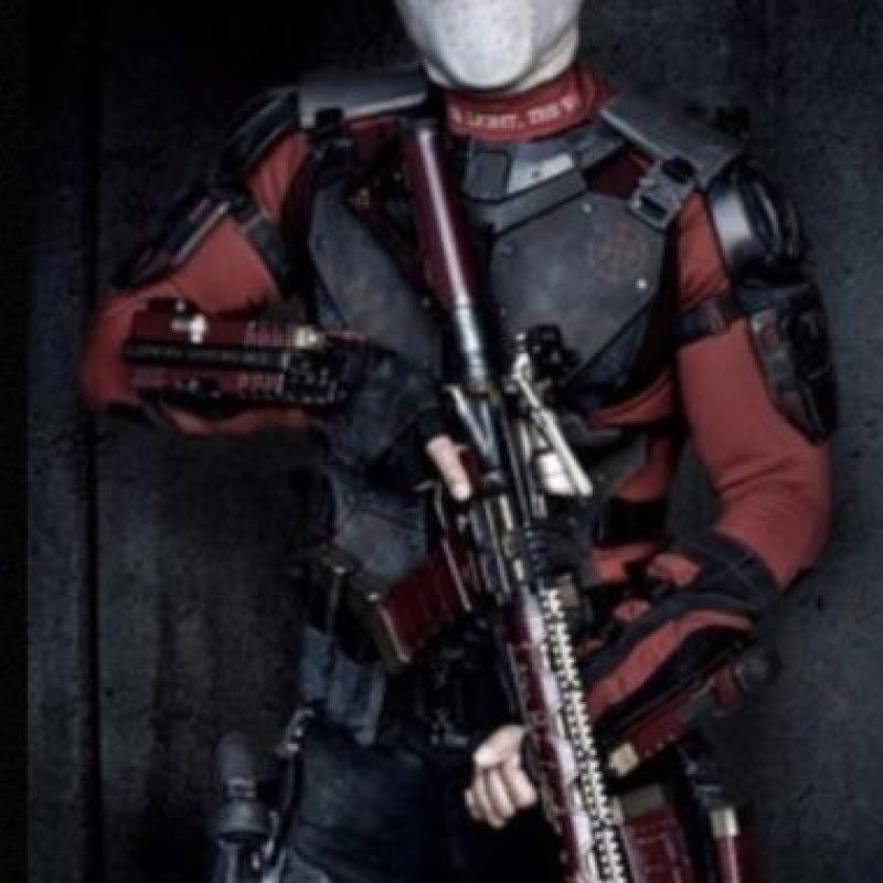 """Por otra parte, Will Smith, que interpreta a """"Deadshot"""", recibió una caja de balas. Foto:The Grosby Group. Imagen Por:"""