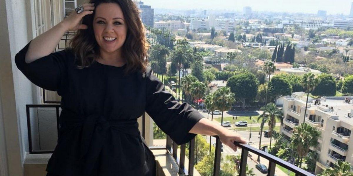 Así luce Melissa McCarthy tras perder un tercio de su peso corporal