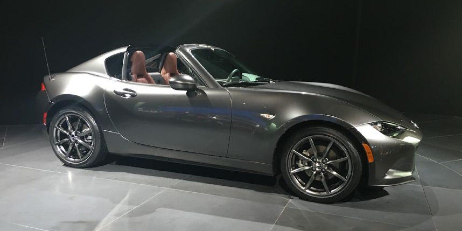 Mazda presentó en el NYIAS la nueva generación del MX-5 R, que llegará con dos motores de gasolina a escoger. Foto:Víktor Rodríguez-Velázquez. Imagen Por: